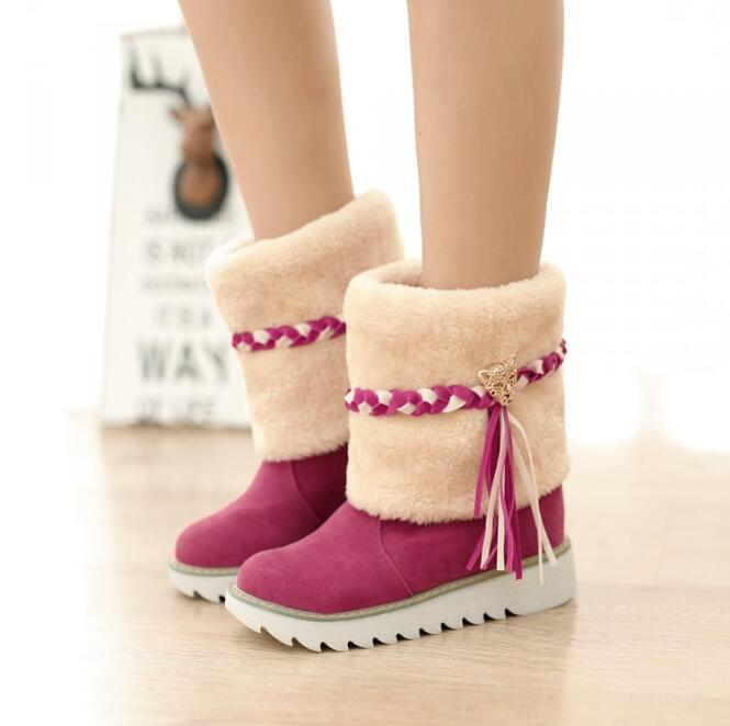 zm41483a low price women's winter warm boot ladies boots wholesale