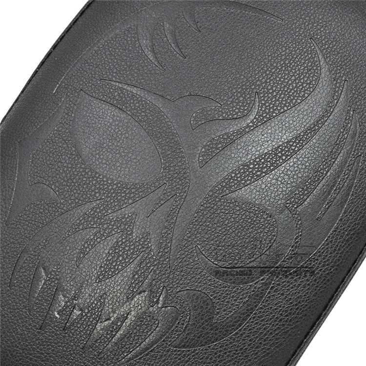 BJ-SC02D-883 for Harley Motorcycles chopper Custom Cruiser Pillion Seat Pad 8 Suction Cup