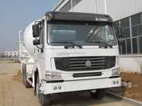 Sinotruk 6x4 / 8x4 cement mixer truck for Southeast Asia