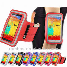 Adjustable Badge Holder Armband for Samsung Galaxy Note 3