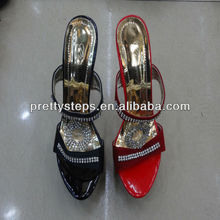 2013 Pretty Steps new design wholesale plastic high heel shoes,women ladies high platform sexy sandals high heel shoes