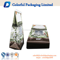 Security laminated packaging bag plastic side gusset bag coffee capsule packaging