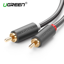 Ugreen rca jack audio cables male to male rca aux cable 1.5m 2m 3m 5m rca cable for Laptop TV DVD amplifier