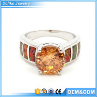 China Opal Jewelry wedding rings diamond