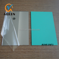 high quality 1mm unbreakable wholesale silver color two way double sided acrylic mirror sheet