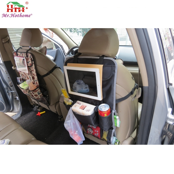 Luxury Car Back Seat Organizer Auto Seat Back Protector, Kick Mat and Car Organizer