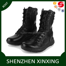Light weright comfortble commercial 8 inch black mens combat boots cheap black men's delta force army tactical combat boots