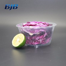 high quality washable pp bowl for salad take away round plastic bowl