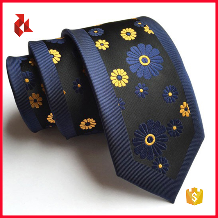 Mens Unique Polyester Woven Panel Corbata Ties