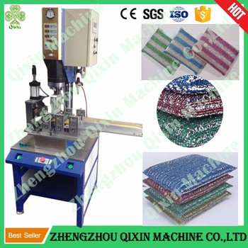 Full automatic kitchen sponge making machine