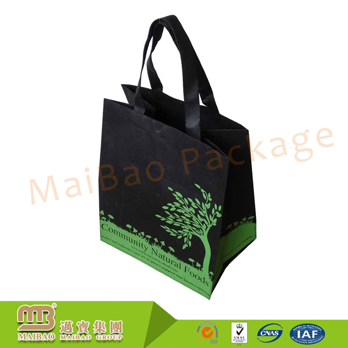 Heavy Duty Custom Handmade Grocery Reusable Non Woven Tnt Shopping Eco Bags China Supplier