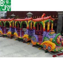 Modern Outdoor Metal Christmas Electric trains For Kids