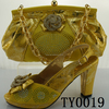 Elegant Lady Shoes And Bag Set
