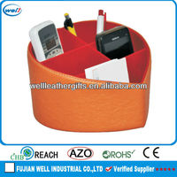 cheap remote organizer leather from China factory