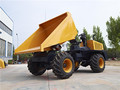 3Ton construction earth transfer site dumper