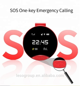 "New Arrival S9 1.22"" inch GPS positioning pocket watch for iPhone or Android Phone"