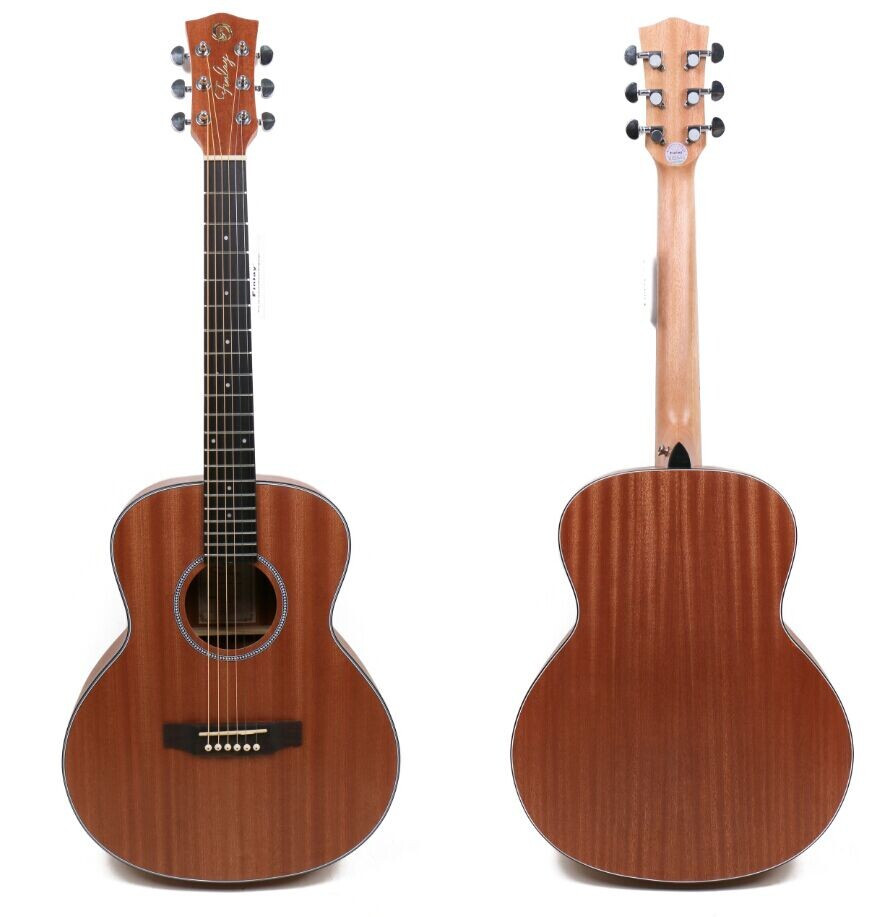 FA-36SS 36 inch instrument all sapele small acoustic guitar for kids
