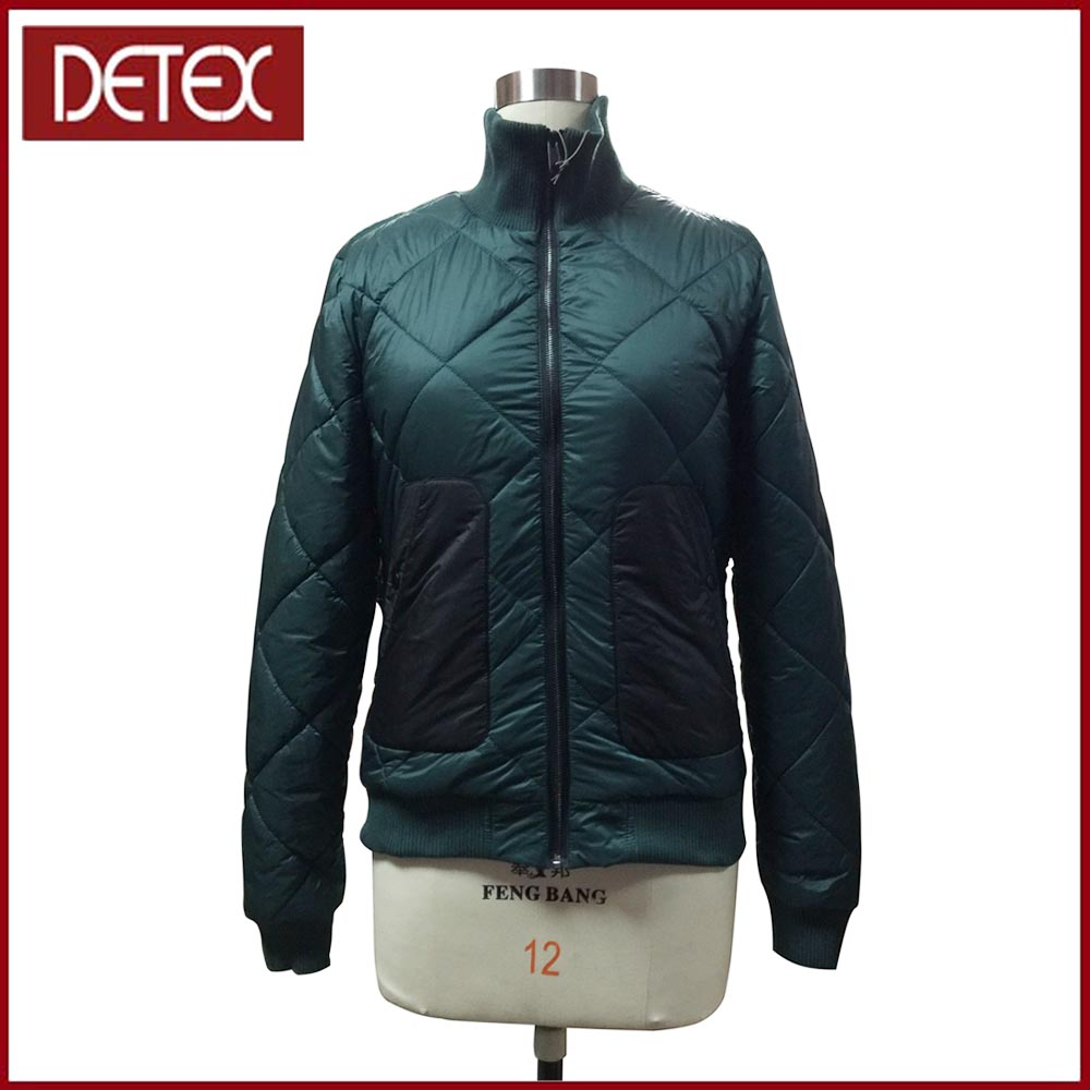 OEM custom Sevice New Green Padded Bomber Nylon Jacket For Men