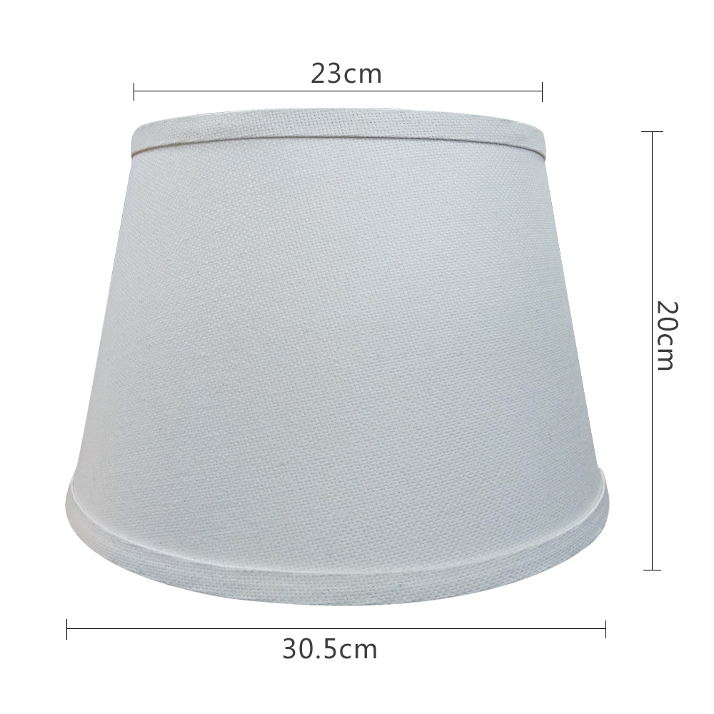 Sales promotion small size cotton fabric lampshade