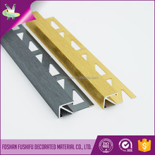 Architectural decoration material metal wall tile edge trim protection