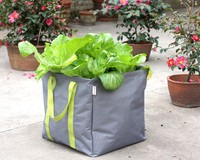 Folding envieronmental protection plant grow bags