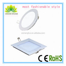 hot sale popular style high quality 12w ceiling led panel light for parlor CE/RoHS approved