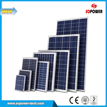 300W Poly Solar Panel 36V PV Module Solar Panel with CE, ROSH, TUV Certification