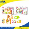 8pcs assorted mini baby rattle set toy with window box