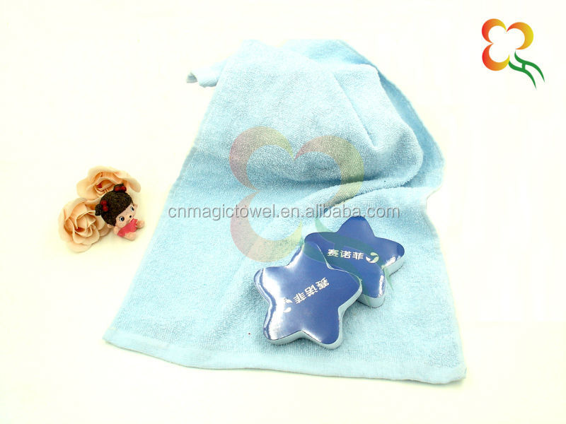 100% cotton friendly environment promotional towel