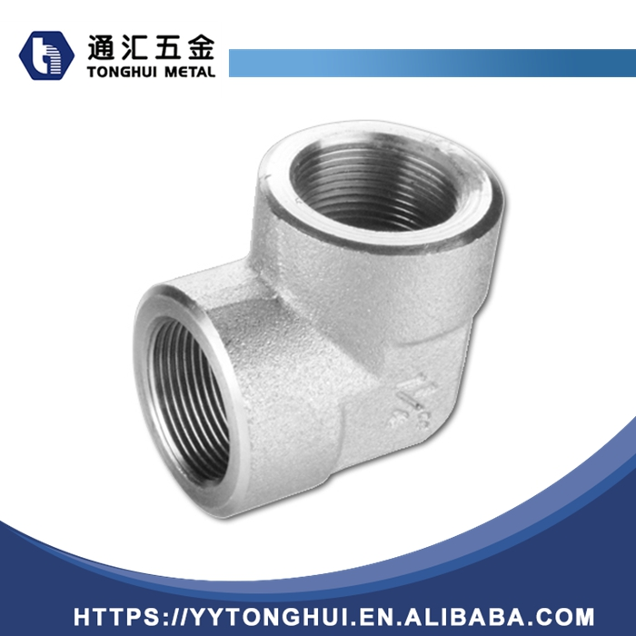 wholesale 90 degree double male and female elbow with tap connector