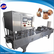Guangzhou Practical Full Automatic Plastic Cup Filling And Sealing Machine For Jelly/cream/paste/coffee/milk/yogurt