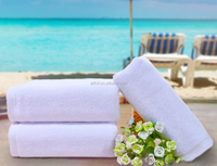 High Quality Promotional white Beach Towel Wholesale