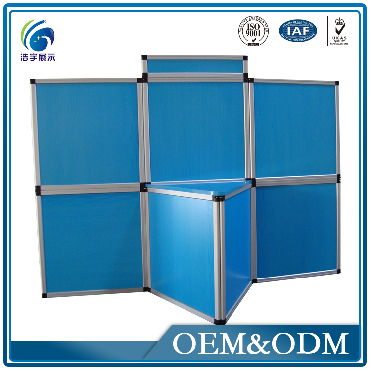 Retractable Trade Show Cardboard Folding Screen
