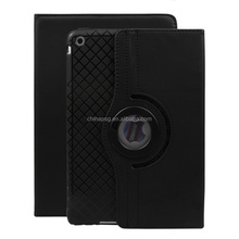 360 Degree Rotation Pu Leather Smart Case for Ipad Air Anti Cracking