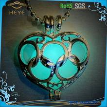 Magical Design Hollow Imitate LED Light Stone Luminous Pendant <strong>Necklaces</strong>