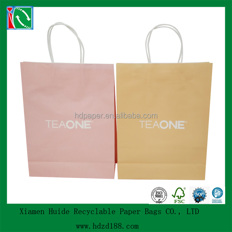 2015 wholesale reusable kraft tea bag paper