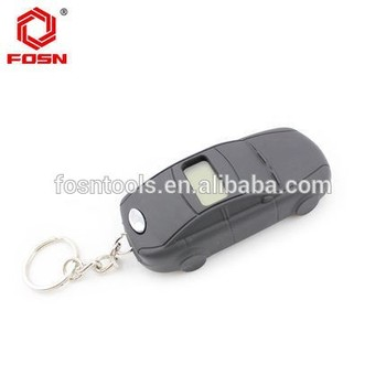 Special Designed Car Tool Keychain LCD Digital Tire Pressure Gauge