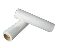 XS-DF-DBD-034Clear/black HDPE/LDPE/LLDPE plastic stretch wrapping/packing film on roll