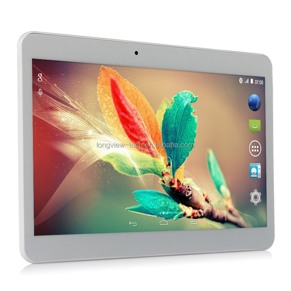 Google Android 10 inch dual core FM 1G/16G front/rear cameras MTK6572 3G tablet pc