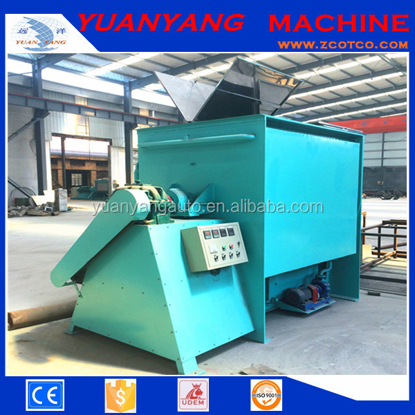 Horizontal poultry feed Ribbon Mixing Blender Mixer machine