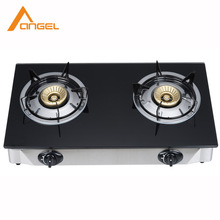 Hot Selling Kitchen Appliance Energy-Saving Glass Free Standing Portable 2 Burner Gas Stove