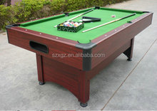 wholesale MDF cheap 8ft snooker pool table