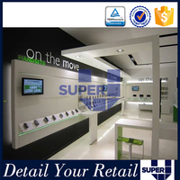 Custom high quality promotional beautiful shop display for mobile
