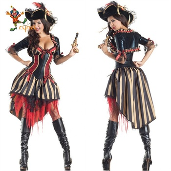 Sexy Female Pirates Costume halloween Party costume