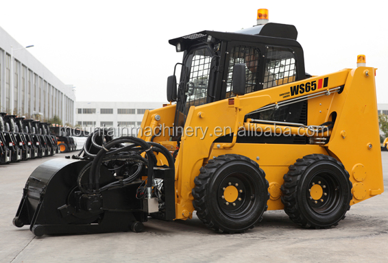 Mini loader: skid steer loader WS65 with engine xinchai/perkins/kubota