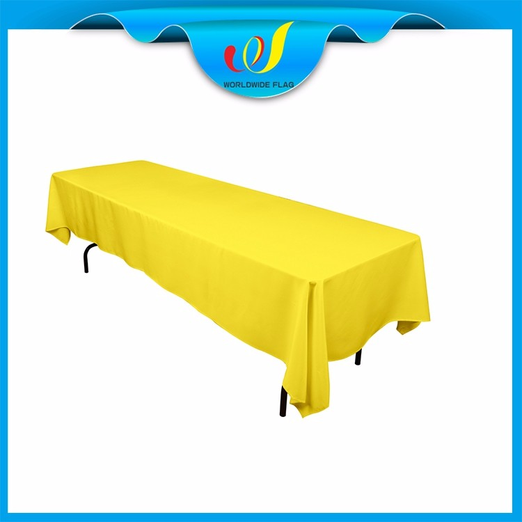 China Trade Show Event Promotion Tablecloth Small