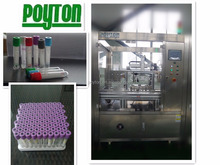 Vacuum blood collection tube assembly production line