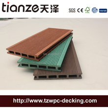 Wood polymer extruded resist fire exterior composite decking