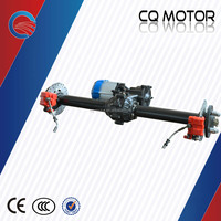 48/60V 350-1000W BLDC differential motor with gear box and rear axle for electric tricycle/rickshaw/car