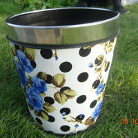 *portable mobile small trash can, waste bins